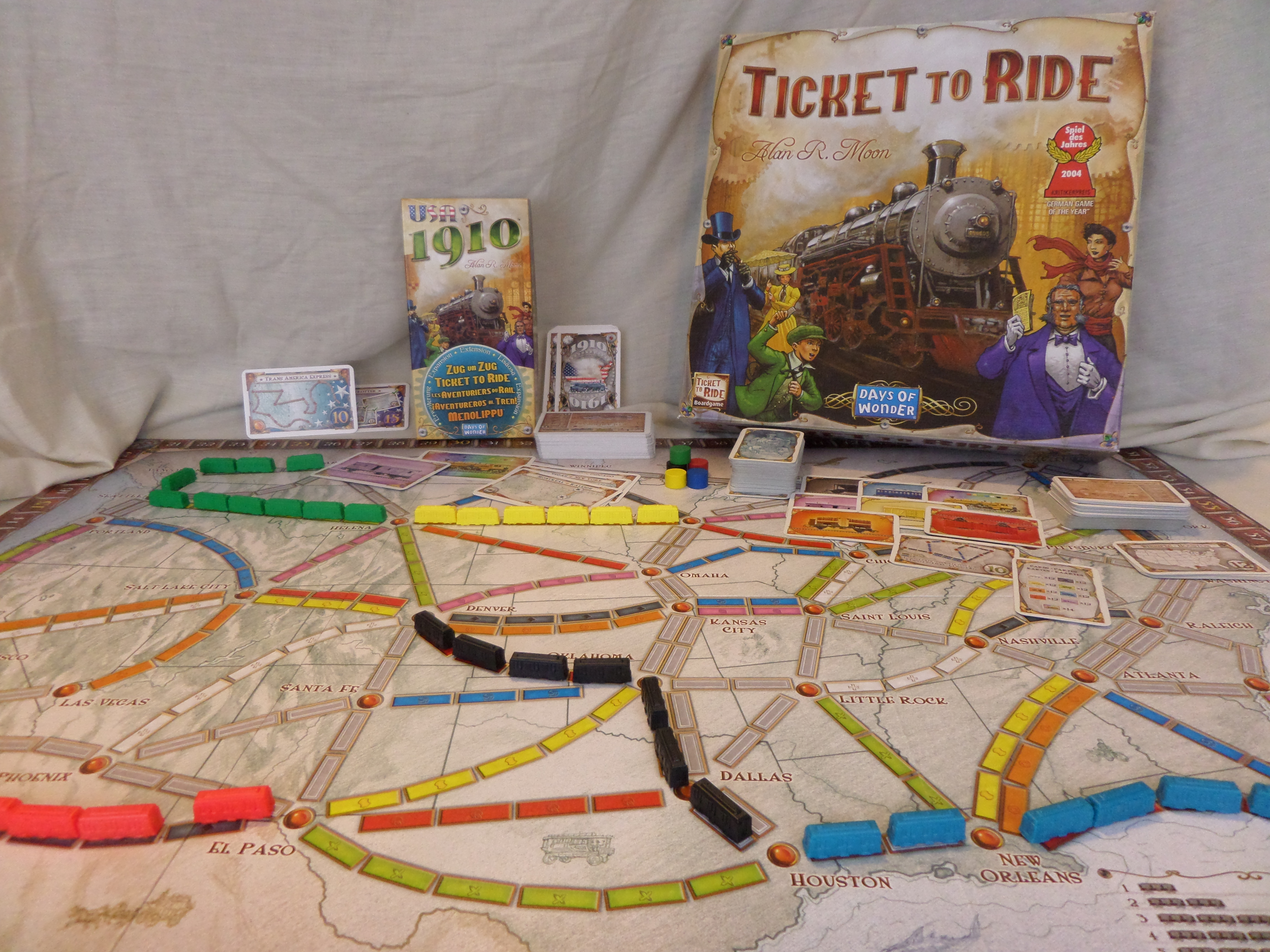 TTR and 1910