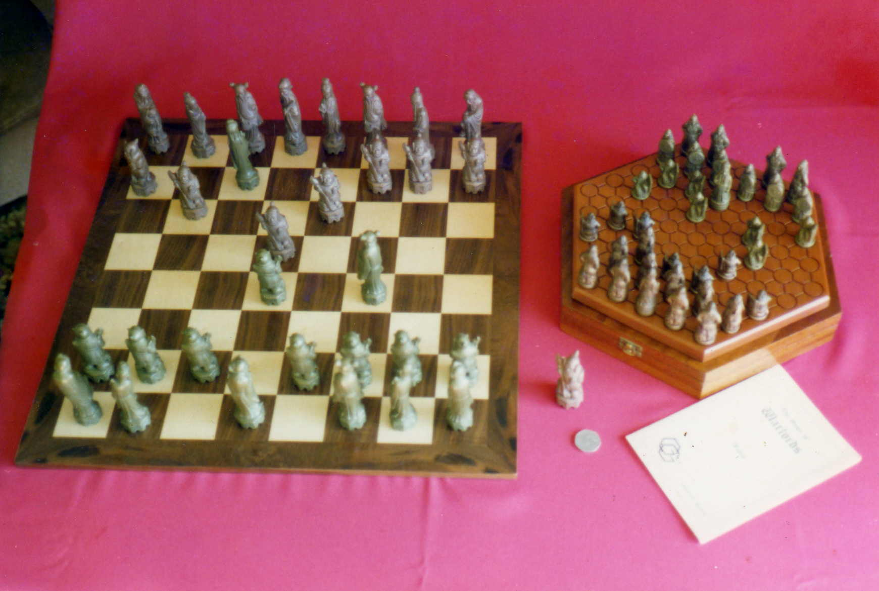 Warlords and Chess Set