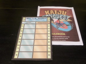 Battle Board and Rule Book