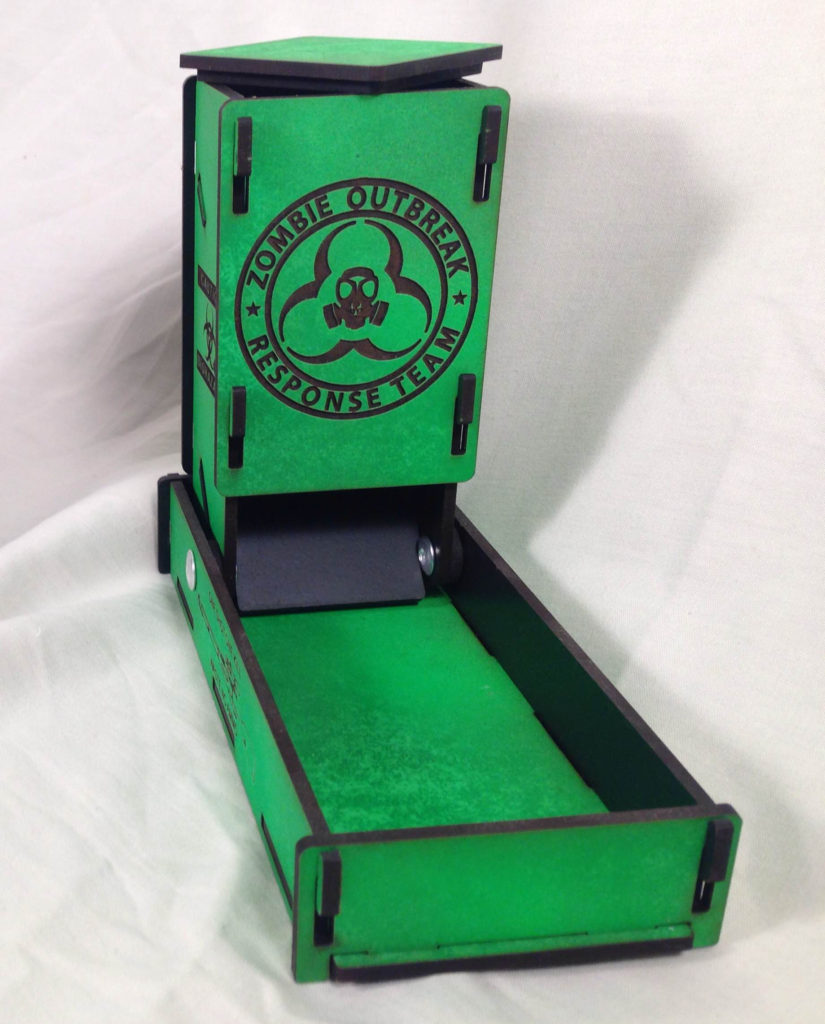 Toxic Dice Tower